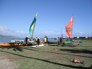 Renegades Sail Canoe Adventure