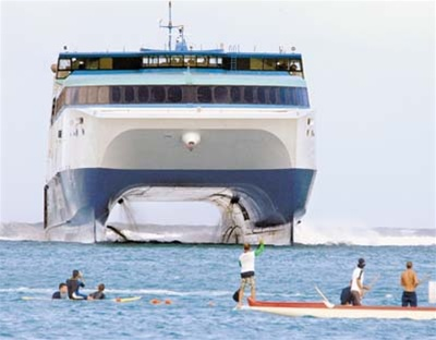 Superferry Attacks Protesters